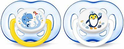 Philips SCF186/24 Avent Freeflow soothers (18 Months Plus Pack of 2) NEW