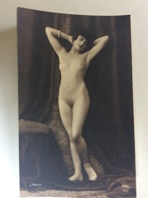 CPA Nu Sexy Topless Nude French Photo Postcard