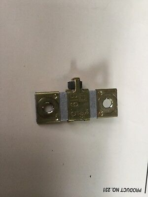 Square D Thermal Overload Heater Element Unit  B 19.5