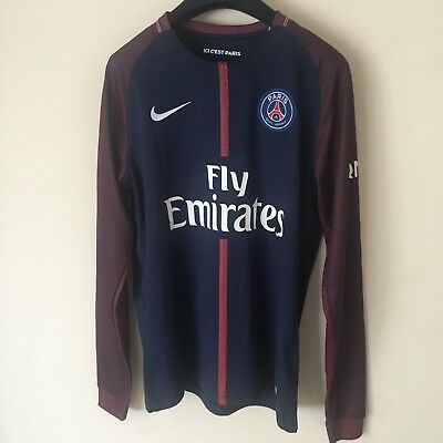 Paris Saint Germain 17/18 Neymar 10 L/S Home Kit M