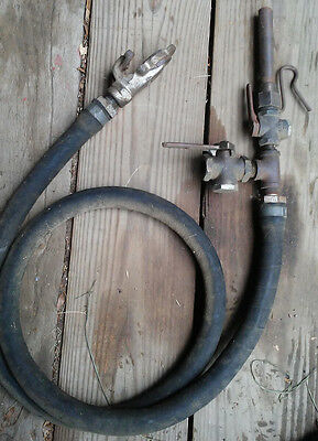 Vintage Railroad backup whistle and hose from CNR Work train