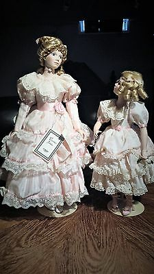 Gorham Mother Daughter Collectable Set #051 Signed By Elisabeth Woodhouse