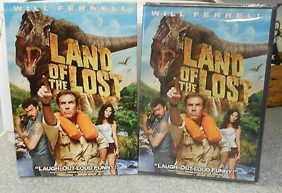 Land of the Lost (DVD, 2009) RARE COMEDY BRAND NEW W SLIPCOVER
