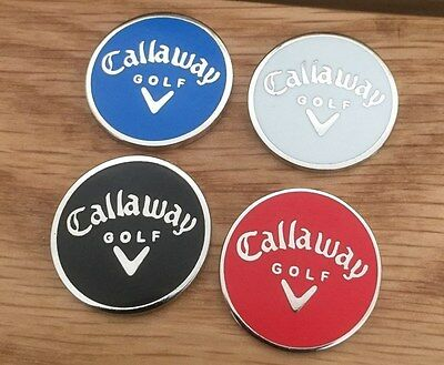 Set of four Callaway Magnetic golf ball markers                    m42