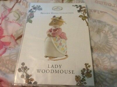 toy knitting pattern lady woodmouse brambly hedge