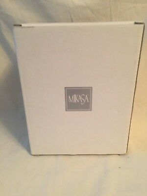"Mikasa picture frame, #1, new with box, glass, 5"" by 3"""