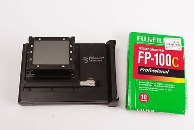 NPC Proback Polaroid back for Pentax 645 + a pack of film