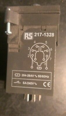 RS 217-1328 ON Delay Energise Single Timer Relay,