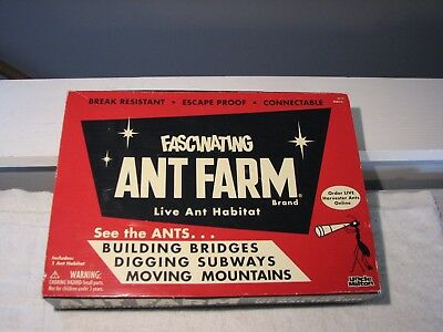 Fascinating Ant Farm by Uncle Milton Live Insect Bug Sand Habitat School 2011