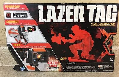 Lazer Tag Blaster Pack, For Use With iphone SPO2 Nerf
