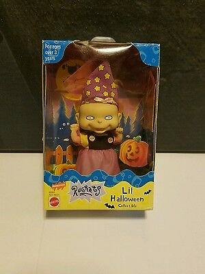 1998 Nickelodeon Rugrats Lil Halloween Collectible Figure Mattel Sealed