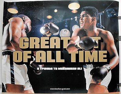 N074 - POSTER 111 x 142 cm A Tribute to MUHAMMAD ALI - GREATEST OF ALL TIME
