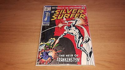 Silver Surfer #7 - Marvel Comics - August 1969 - 1st Print