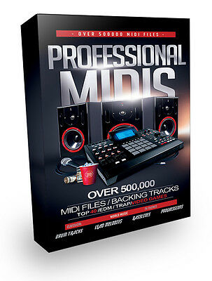 Over 500,000 Professional Midi Files - Instant Download