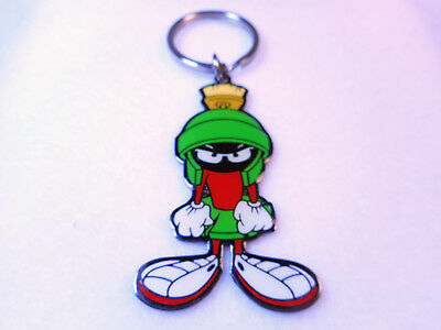 Marvin The Martian 1996 Metal Key Chain NOS