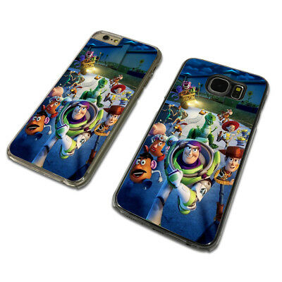 TOY STORY FILM DISNEY CLEAR PHONE CASE COVER fits iPHONE / SAMSUNG (TH)
