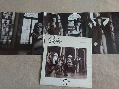 "Quireboys Seven O'clock Rare 1989 Uk 12"" With Double Sided Poster"