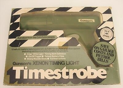 Gunsons Xenon Timing Light Timestrobe