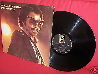 1980 MICHAEL HENDERSON Wide Receiver LP NMINT UNPLAYED SOUL R&B FUNK KILLER BASS