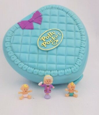 vintage polly pocket Babytime Fun figures 1994 By Bluebird toys