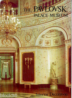 1979 THE PAVLOVSK PALACE MUSEUM Set of 16 LARGE cards in folder Russian/English