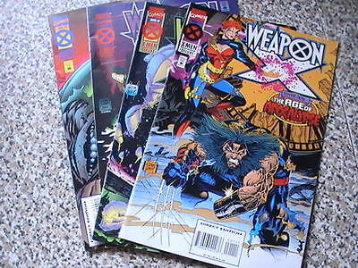 Weapon X  1- 4 : Age Of Apocalypse Issues