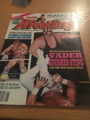 Inside Wrestling Magazine November 1992