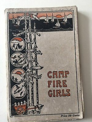 Campfire Girls Handbook The Campfire Girl's  Dated 1925