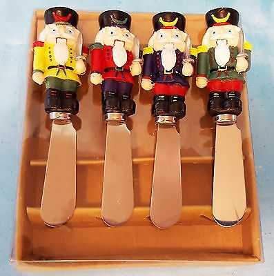 Boston Warehouse Nutcracker Holiday Party Serving Spreaders ~ Never Used
