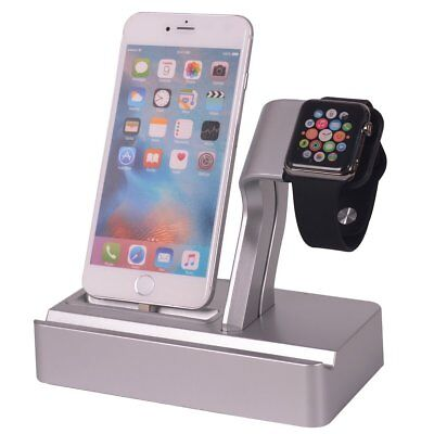 Apple Charging Stand iPhone iWatch iPod watch Charger Docking Station Holder 4-1