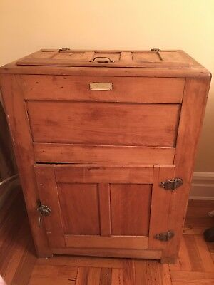 Antique Oak Ice Box - Priced to move!