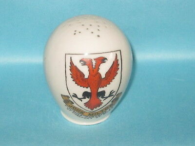 Goss Egg-Shaped Pepper Shaker*- JOHN MILTON,FINISHED PARADISE LOST AT CHALFONT..