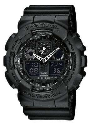 casio g shock ga 100 1a1er series shock water resistant. Black Bedroom Furniture Sets. Home Design Ideas