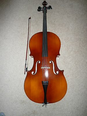 B&H 400 3/4 Cello - Comes with Bow, Resin, Soft Case & Small Stand