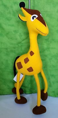 Springy Giraffe panopoly Tier Stofftier für Babys & Young Kinder