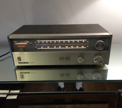 Vintage Harman Kardon Hk 500 Am/fm Stereophonic Tuner With Manual & Box Works!