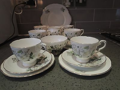 21 Piece Vintage Royal Stafford Camellia Tea Set