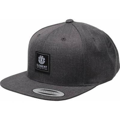 Casquette Element State black heather