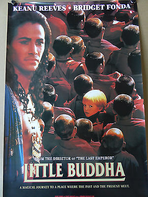 Keanu Reeves  LITTLE BUDDHA poster - VERY RARE ONE !!!