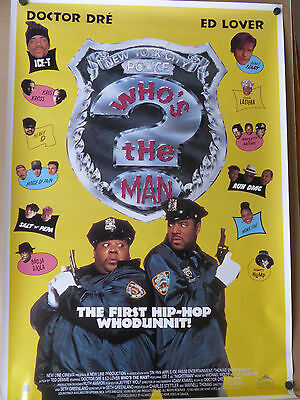 Dr.Dre Who's the Man poster
