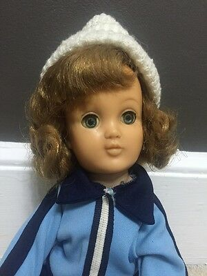 Vintage 1950's Harriet Hubbard Ayer Doll In Blue Gym Outfit 16 Inch Blond Hair