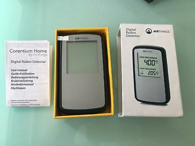 Airthings Radon Detector USA version in pCi/L New store display model