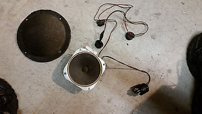 50's Wurlitzer Tweeter Speaker with Cover, and Wiring Harness for Speakers