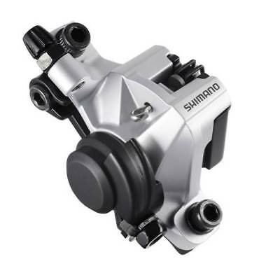 Shimano BR-M375 Cable Disc Brake Front/Rear Caliper SILVER inc. B01S Pads