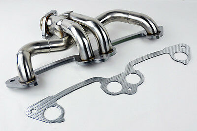 Stainless Manifold Header w/ Gasket Fits Jeep Wrangler 1991-2002 2.5L L4