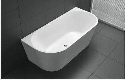 Wholesale Price!!!!!back To Wall Freestanding Bath Tub 1500Mm $629