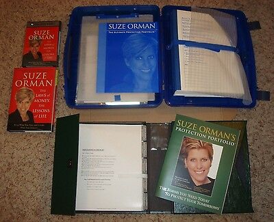Suze Orman Lot - The Ultimate Protection Portfolio, Plus Extras (DVD, Book, etc)