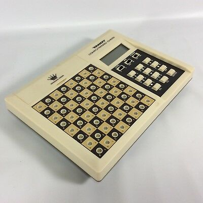 Radio Shack Tandy Computerized LCD Graduate Chess Game 60-2168 Travel Works 1981