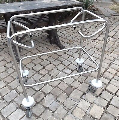 Stainless Steel Mobile Trolley Cart Frame - No Top - Pick Up Ryde 2112