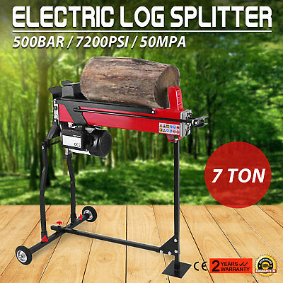 7 Ton/2200W Electric Log Splitter Wood Axe 220-240V/50Hz Woodworking Tools